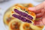 山藥紫薯餅香甜可口營養豐富,做法簡單又健康